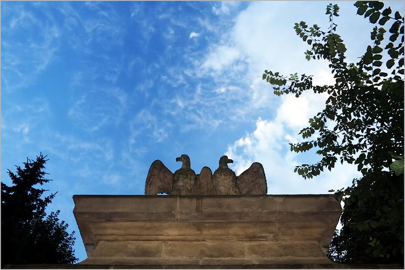 Litovelská brána ve Smetanových sadech