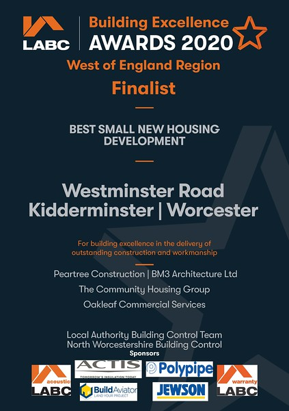 F - Best Small New - Westminster Road - certificate.jpg