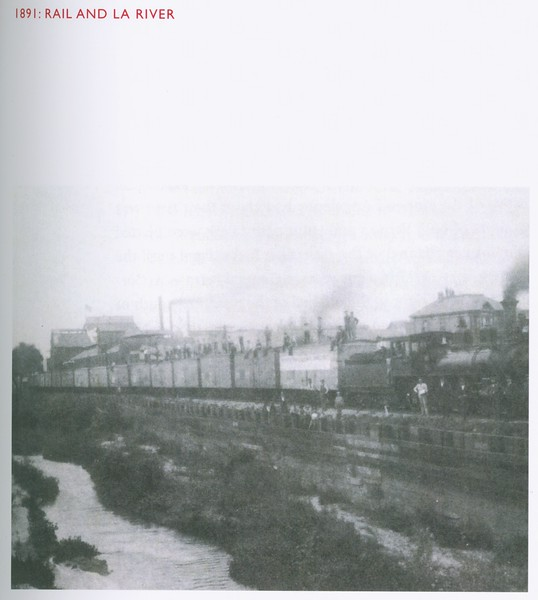 1891, Train by LA River