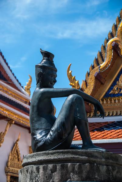 At The Grand Palace. Bangkok.