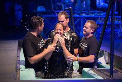2015-08-09 - 9 a.m. Baptism