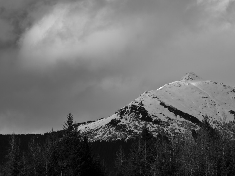 It's not easy to capture subtle light on a mountain in a way that does it justice.