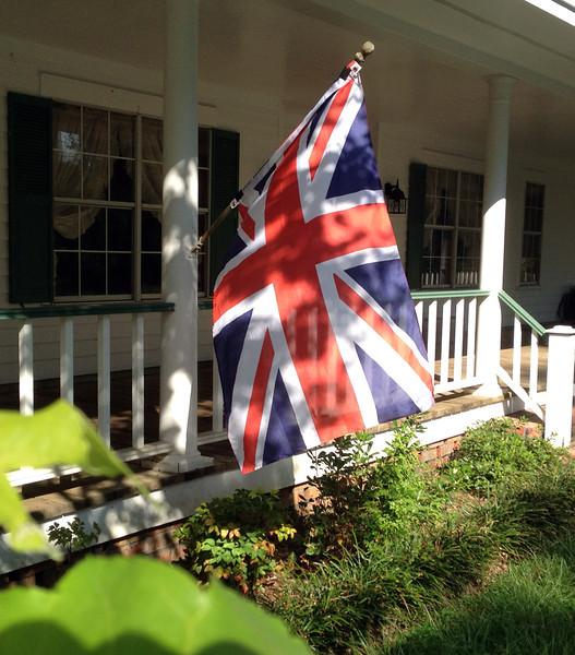 Union Jack souvenir from Hyde Park