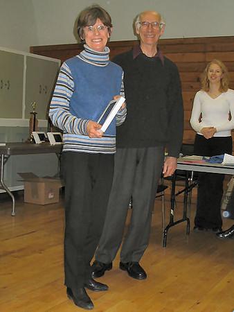 2005 PIH Awards Presentations - The Rosamund Dashwood Veteran of the Year Award goes to Sandra Bastedo