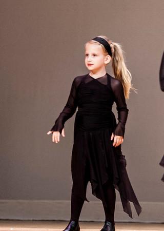 Clare's first dance recital