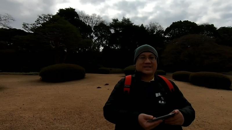 Shinjuku Gyoen National Garden (Video)