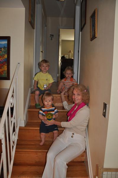 Noni and grandsons