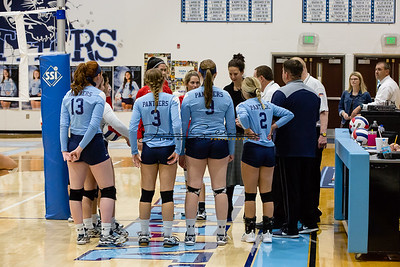 JCHS Volleyball vs Triad