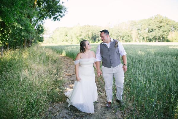 Molly & Christian | Kimberly Farms Wedding