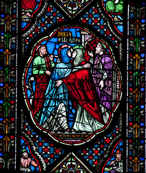 Coutances, Notre-Dame Cathedral, The Visitation