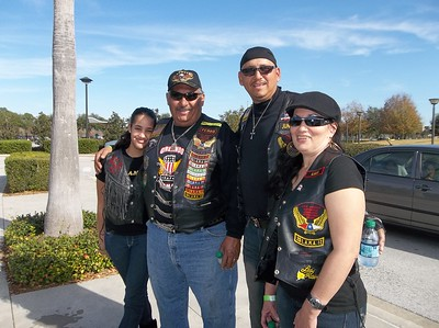 Bikers Against Child Abuse ride and After Party at HD