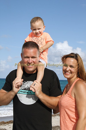 Miles' Family at the Beach