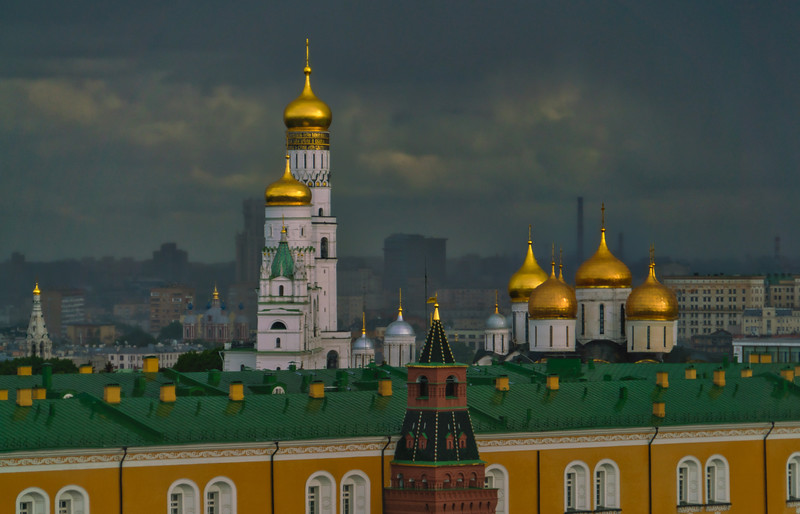 Gloomy Day in Moscow