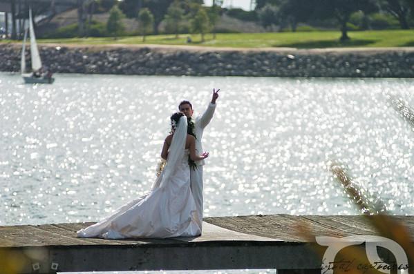 Pat & April Wedding 2/21/2009