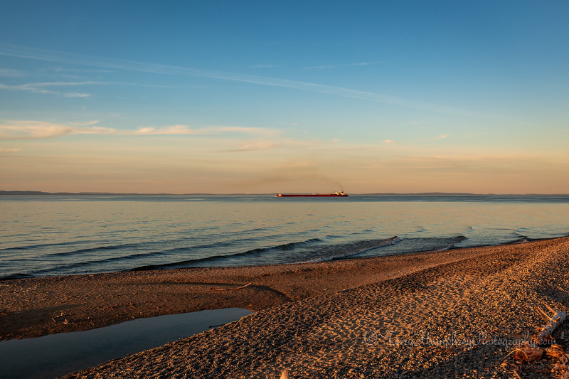 Golden Hour On Lake Superior
