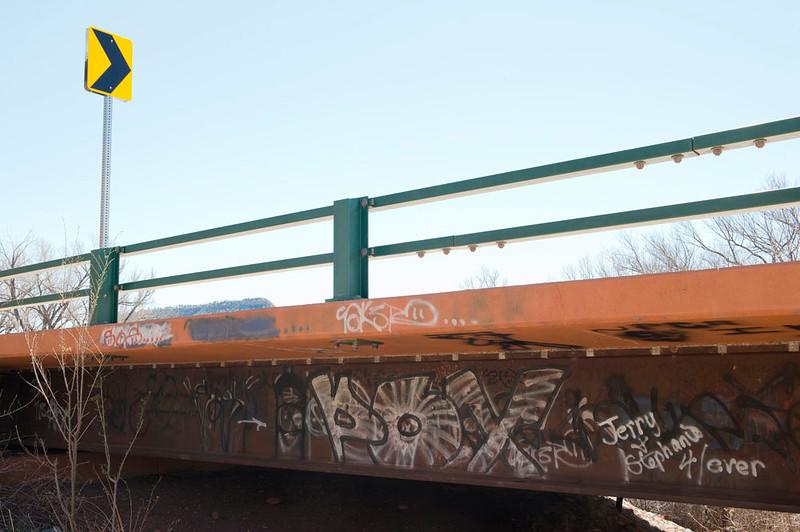 Modern Day Petroglyph, New Mexico