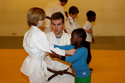 Judobursdag i Asker Judoklubb