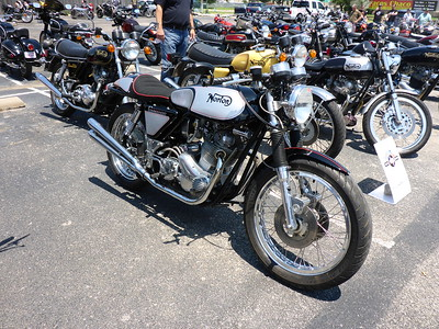 2017 6/25 Antique Bike Show at Dylan's BBQ Saloon