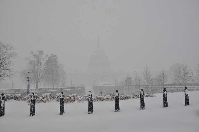 Capitol is back there somewhere...