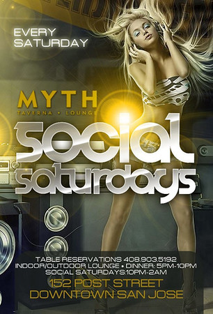 Social Saturdays @ Myth Tavern & Lounge 11.14.15
