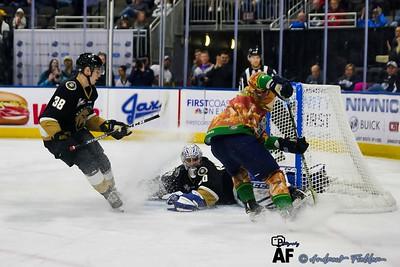 Newfoundland Growlers Vs Jacksonville Icemen 03/01/2020