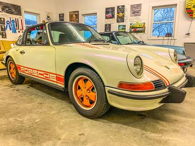 """1972 - 911 """"S"""" Porsche Targa"""