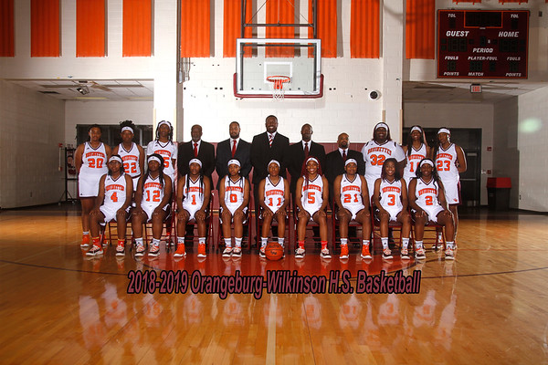2018-2019 Girls Varsity Basketball