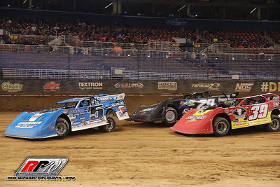 Gateway Dirt Nationals - Late Models - 11/30/18 - Michael Fry