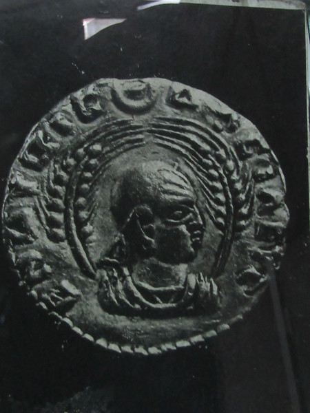 020_Axum. Coins 3th C AD. Exporting frankincence, grain, skins, apes and particularly ivory.JPG