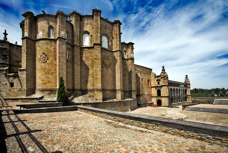 San Benito convent (16th century), Alcantara, Caceres, Spain
