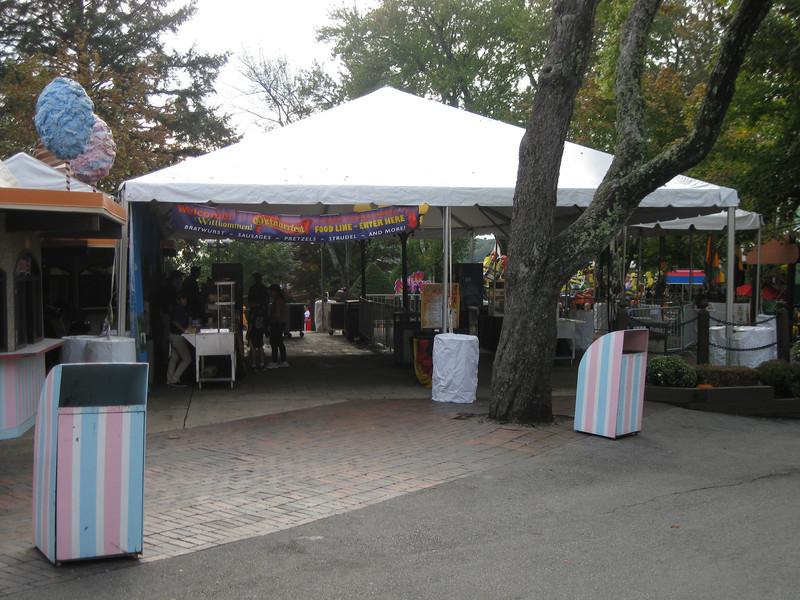 Oktoberfest food tent.