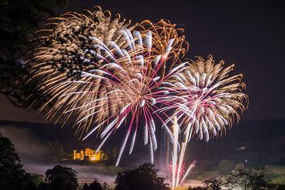 Eastnor Castle Fireworks Competition 2015