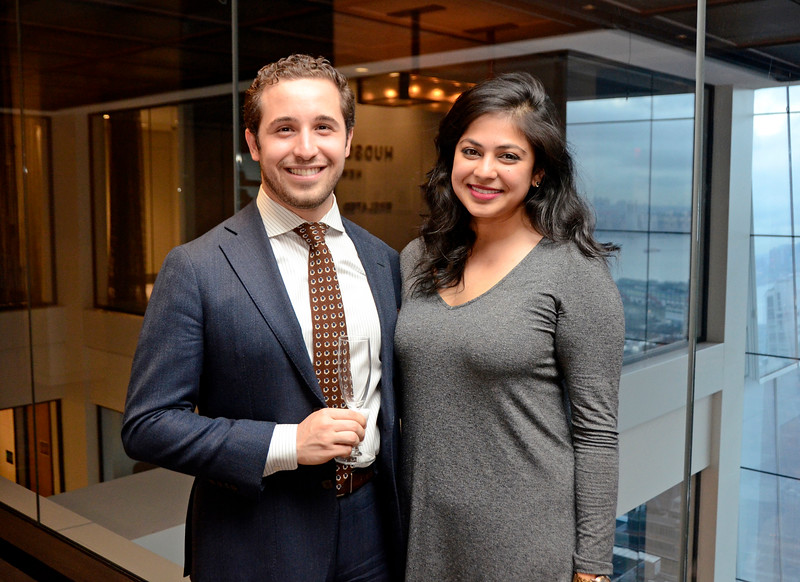 Corey Omer, Runal Patel AVENUE MAGAZINE Presents the SALON DINNER & CONVERSATION about PUBLIC ART Featuring YVONNE FORCE VILLAREAL 10 Hudson Yards NYC, USA - 2017.04.06 Credit: Lukas Greyson