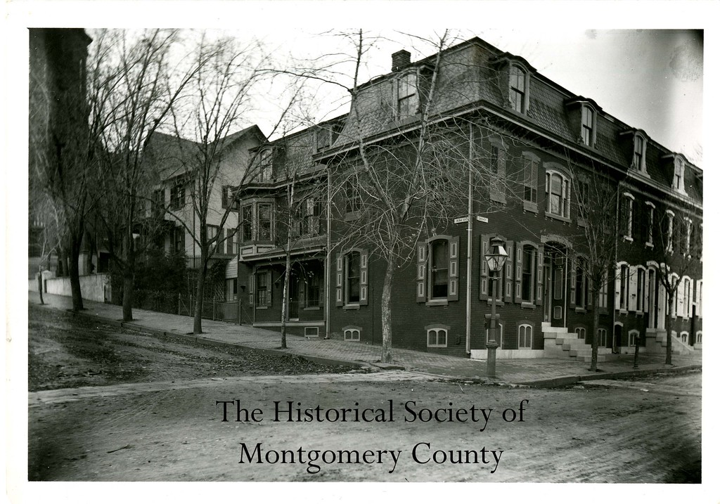 . This undated photos from the Historical Society of Montgomery County shows East Airy Street, between DeKalb and Green streets in Norristown.
