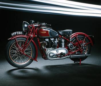1:10 Triumph Speed Twin Model