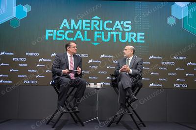 Politico Event- Ben Bernanke