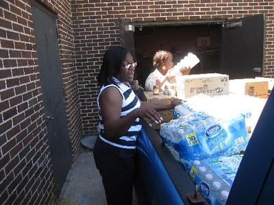 Assisting Storm Victims