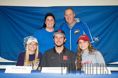 National Signing Day - No. Brunswick HS 11-11-2015