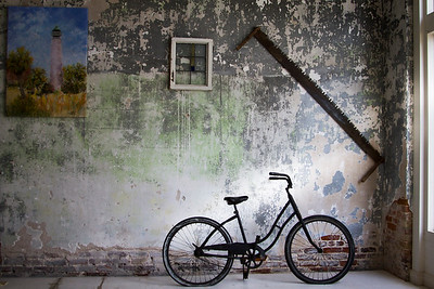 Bicycle and Wall