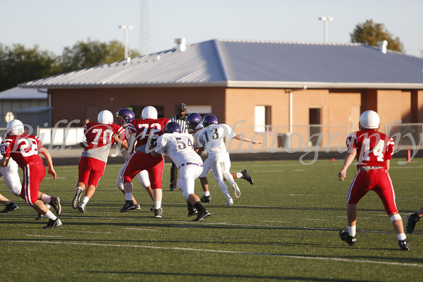 TCHS 9th FB B vs Northwest 10-23-13