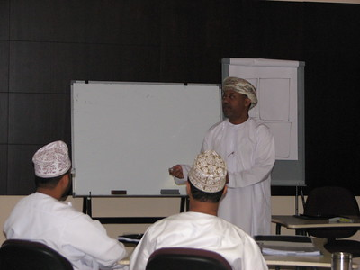 lecture by Mr. Sulaiman Al-Harthy MBA