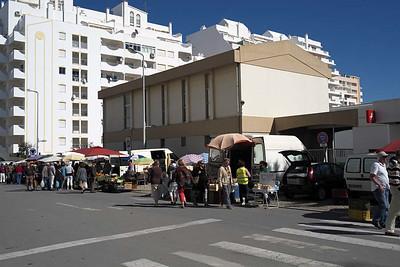 Farmers' market at Armacao de Pera
