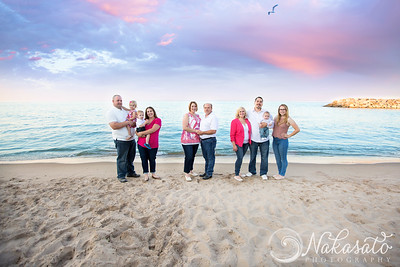 Michelle & Michael {Beach family session}