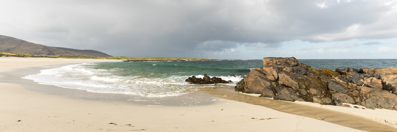 First Beach once on the Outer Hebrides