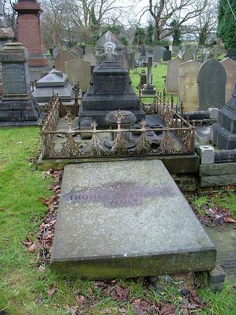 Headstones at St Michaels, Flixton