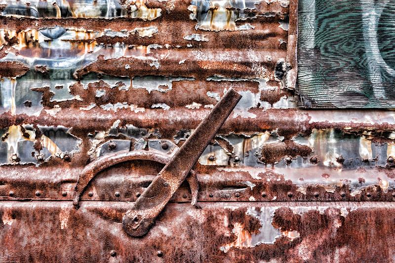 Rusted Rail Car