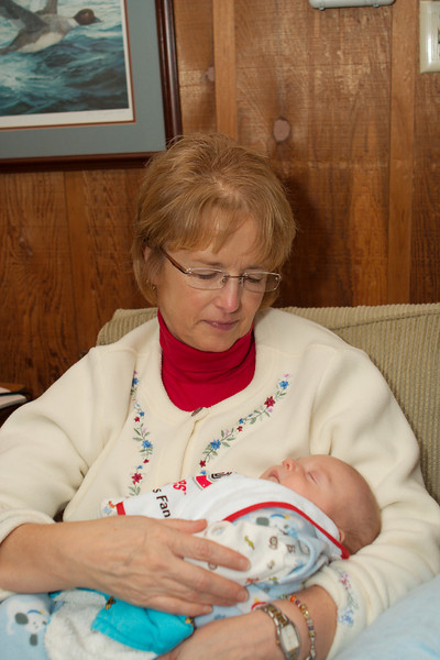 Thanksgiving in Mansfield 2008 (Colin @ 9 weeks)