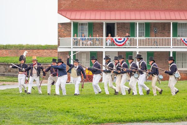 Fort McHenry - Navy Tattoo Ceremony (2018-08-11)