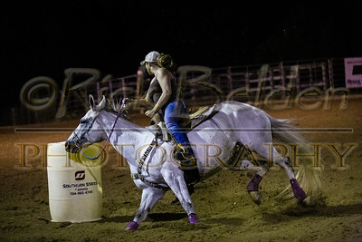 HH Ranch - Barrel Racing 7-29-14