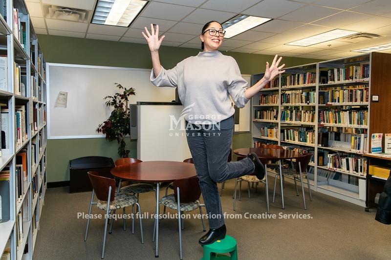 Charisse Cardenas, Scar.  Photo by:  Ron Aira/Creative Services/George Mason University